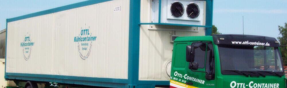 Verkauf, Vermietung, Transport und Lagerung WC-Container, Tiefkühlcontainer, Kühlcontainer